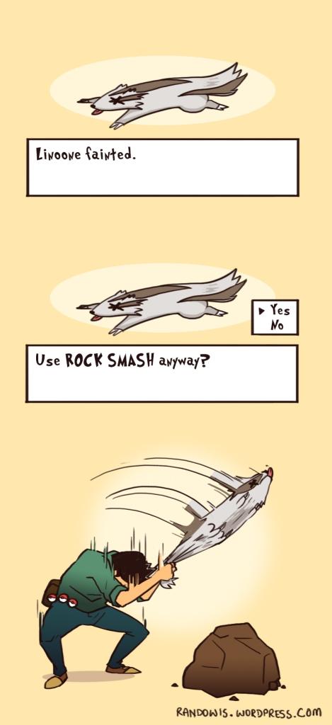 Linoone-smash